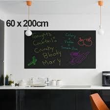 Office Chalkboard Removable Vinyl Draw Erasable Blackboard Learning Multifunction
