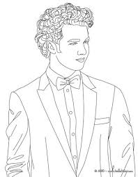 Small Picture Kevin jonas bow tie coloring pages Hellokidscom