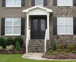painted residential front doors. VIEW IN GALLERY Awesome Black External Hardwood Doors With Glass Accents Plus Handles Painted Residential Front