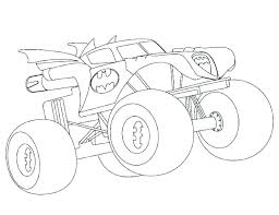 Printable Monster Truck Coloring Pages Printable Monster Truck