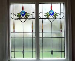 getting the real stained glass window with faux