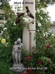 metal garden ornaments nz. mork \u0026 mindy from our garden rocker bird range - separate webpage for the full available. birds. metal ornaments nz