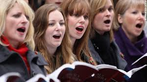 Image result for choir singing
