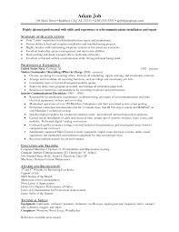 Cover Letter Example Electrician Resume Industrial Electrician
