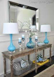 console table decor. Console Table Ideas Decor T