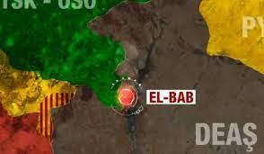 El Bab nerede? El Bab'ın haritadaki konumu ne? - GÜNCEL Haberleri