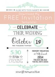 wedding invitations printable templates wblqual com online wedding invitation templates printable sacfest wedding invitation