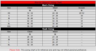 Warrior Hockey Pants Size Chart Size Charts Concrete Pond