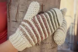 Free Crochet Mitten Patterns Gorgeous I'm Frayed Knot Crochet Mitten Drive Landscape Mittens