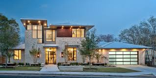view modern house lights. Interesting House LightFilled Home With Stone Walls And Unique Style Contemporary  Intended View Modern House Lights C