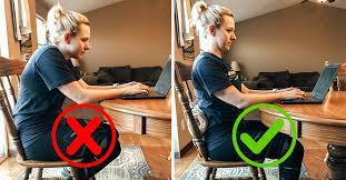 sitting posture while working from home