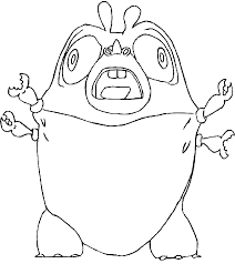 Fantastic Monsters Vs Aliens Coloring Pages With Alien