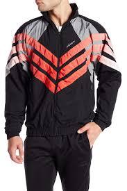adidas men black tironti zip windbreaker cw4988 fmgnyao