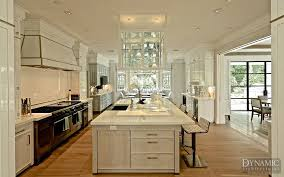 french doors in kitchen. Beautiful French Modern Kitchen With Steel French Doors In Background For In M
