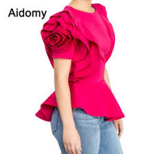 Petal Sleeve <b>Women's Blouses</b> & <b>Shirts</b> | <b>Women's</b> Clothing ...