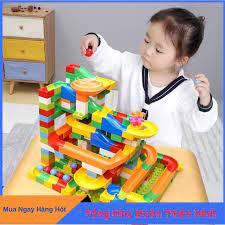 Báo giá [HOT 2020] Đồ Chơi Lắp Ráp, Đồ Chơi Xếp Hình Tháp Lăn Bi 165 chi  tiết cực đẹp cho bé, đồ chơi trẻ em, đồ chơi cho bé chỉ 115.000₫