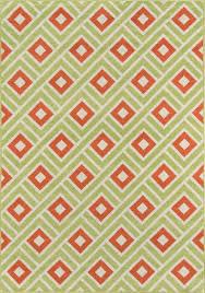 momeni baja collection baj 7 green area rug