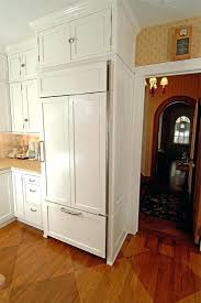 built in refrigerator cabinet. Refrigerator Cabinet Panels Instead Of Stainless Or White Make Mine A Cherry Wood Refrigerators Built In