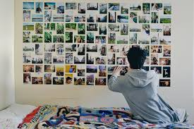 photo wall collage without frames 17 layout ideas