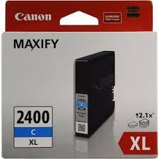 Оригинальный <b>картридж Canon PGI</b>-<b>2400XL</b> С (голубой ...