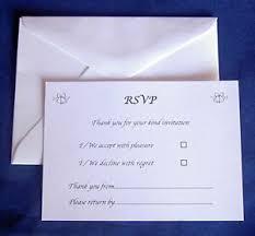 Rsvp Card Sizes Details About 25 Rsvp Cards Envelopes Wedding Reception Anniversary Engagement Size A7 C7