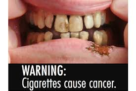 Image result for tobacco warning label
