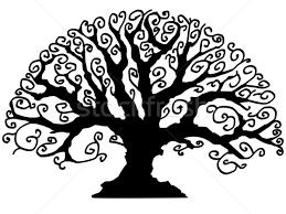 Legno Bianco Nero : Albero · vettore bianco nero primavera legno foresta