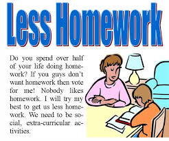 less homework more family time less homework stress schoolfamily