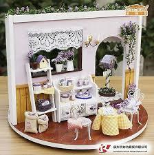 MINIATURE <b>KIT</b>: DIY Wooden Dollhouse Miniatures DIY Kits ...