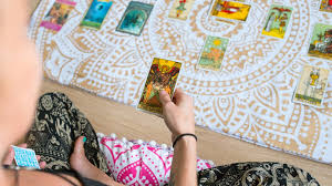 New age tarot card reading. Tarot Cards And Mental Health Seeking Support Through Divination