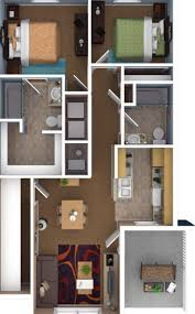 80 best Home and Apartment images on Pinterest | 2 bedroom house ...