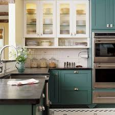 dark green painted kitchen cabinets. How To Paint Kitchen Cabinets Dark Green Painted