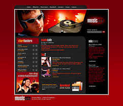 Music Website Templates Magnificent 28 Music Website Templates DreamTemplate