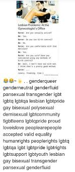 Lesbian bisexual and transgender gynecology