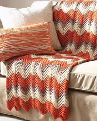 Crochet Ripple Pattern Cool Ripple Afghan Crochet Pattern FaveCrafts