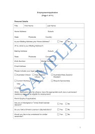 Application Form Example 24 Application Form Sample Fitted Davidhamed 18