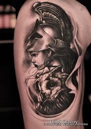 Greek Goddess Athena тату афина тату греческая татуировка и