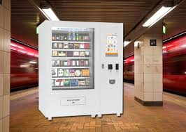 Vending Machine Stock Suppliers New Body Lotion Bath Products Kiosk Vending Machine For Hotel 48 Inch