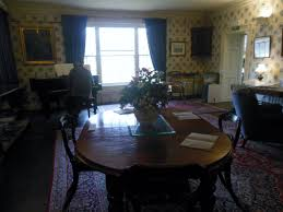 faced with the prospect of having to find a place to put some of his pas furniture ruskin added a dining room where an 1822 painting of him at three