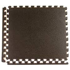 greatmats 15 pack 24 in x 24 in black loose lay foam tile