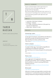 Where To Get A Resume Made My Resume As A Developer I Made With Canva For Simplicity Does