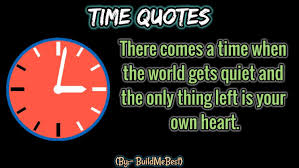 Time Quotes In English Best Clock Life Status Android Apps