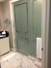 the ritz carlton south beach bathroom doors to shower and toilet