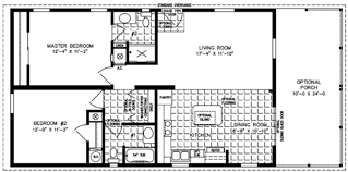 2 Bedroom Mobile Homes my house Pinterest