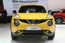 new car launches europe 20152015 Nissan Juke Debuts Refreshed Look At Geneva  Motor Trend