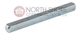 garage door shaft key straight 1 4in