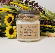 personalized memorial candle sympathy gift condolence gift loss of mother personalized gift in memory of rememberance gift