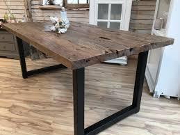 Esstisch Tisch 180x90cm Recyceletes Teak Massiv 5cm Plattenstärke