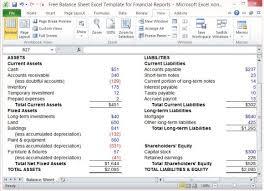 Microsoft Excel Balance Sheet Template Free Balance Sheet Excel ...
