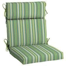 21 5 x 20 sunbrella foster surfside high back outdoor dining chair cushion